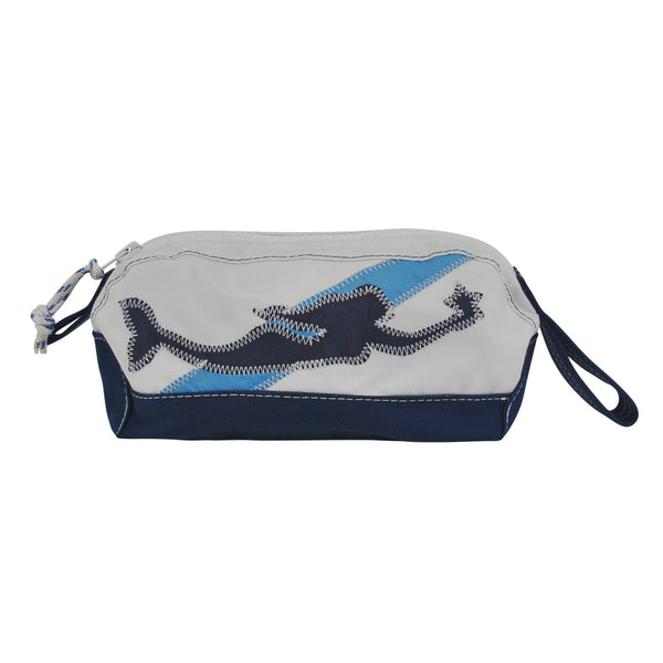 Mermaid Dopp Kit - Boyd Sailcloth - Recycled Sailcloth Bag