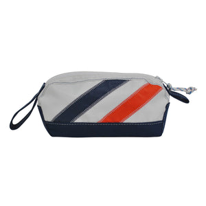 Monogram Dopp Kit - Boyd Sailcloth - Recycled Sailcloth Bag