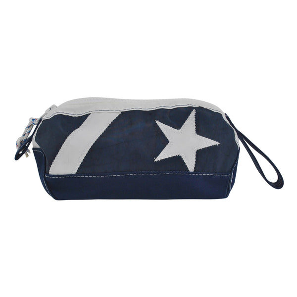 Star Dopp Kit - Boyd Sailcloth - Recycled Sailcloth Bag