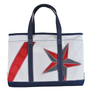 Nautical Star Shore Bag - Boyd Sailcloth -