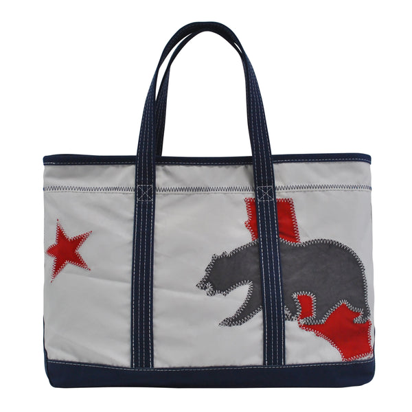 California Bear Shore Bag - Boyd Sailcloth -
