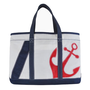 Anchor Shore Bag - Boyd Sailcloth - Recycled Sailcloth Bag, Shore Bag