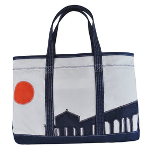 Manhattan Beach Pier Shore Bag - Boyd Sailcloth -