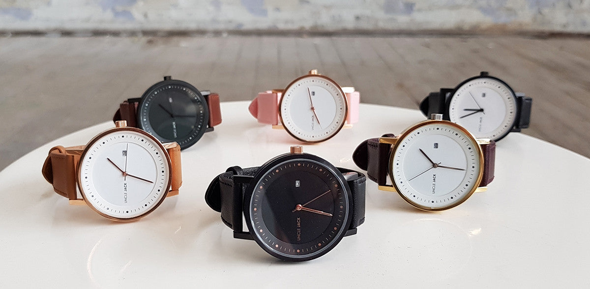 Uncle Jack New Leather Range Watches
