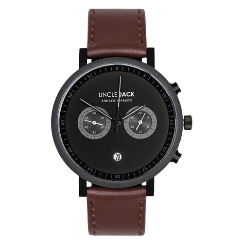 Uncle Jack | CHRONO - BROWN & BLACK |