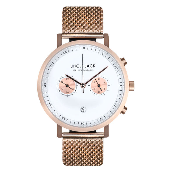 Uncle Jack | CHRONO - ROSEGOLD |
