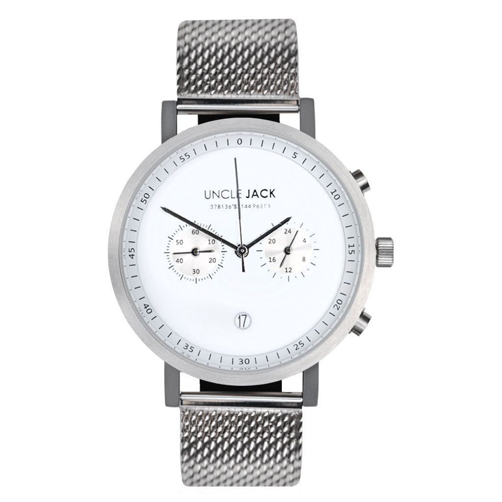 Uncle Jack | CHRONO - SILVER |