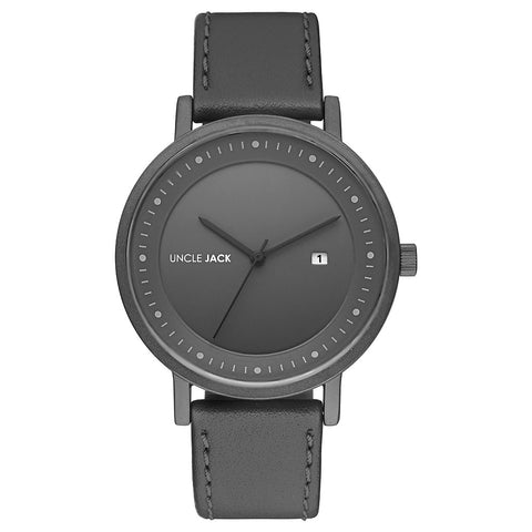 Uncle Jack | Black & Gun Metal |