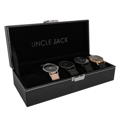 Leather Display Case - 5 Watch
