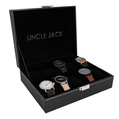 Leather Display Case - 10 Watch