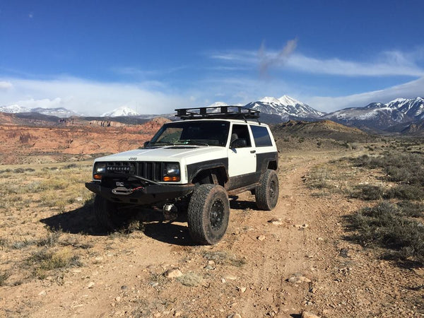 XJ Fenders 2 Door Full Set