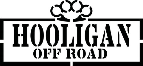 Hooligan Stencil Decal