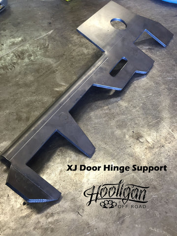 XJ Door Hinge Support DRIVER SIDE