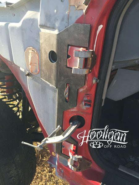 Xj Door Hinge Support Hooligan Off Road