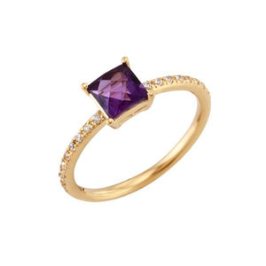 Princess Amethyst Ring