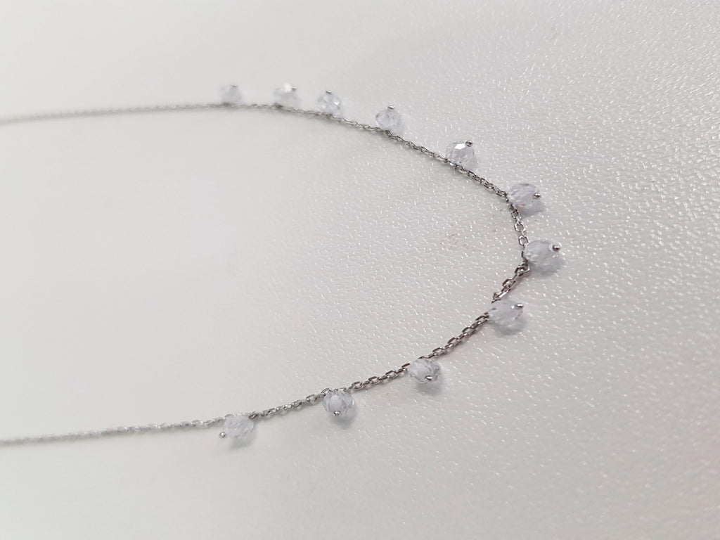 Dangly Necklace: Dust Diamond Necklace