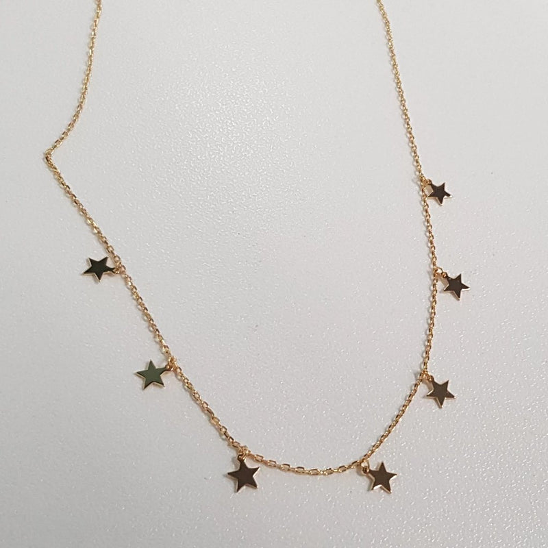 Star pendants necklace