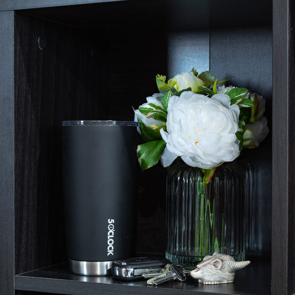 5 O'Clock Stainless Vacuum Insulated Tumbler - 590 mL - Matte Black