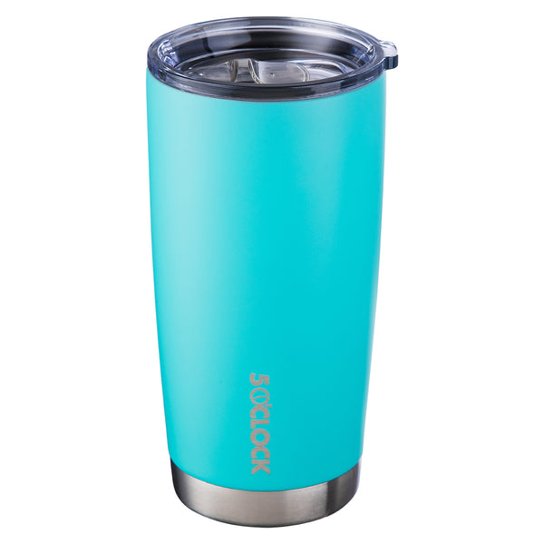 5 O'Clock Stainless Vacuum Insulated Tumbler - 590 mL - Matte Seafoam Green