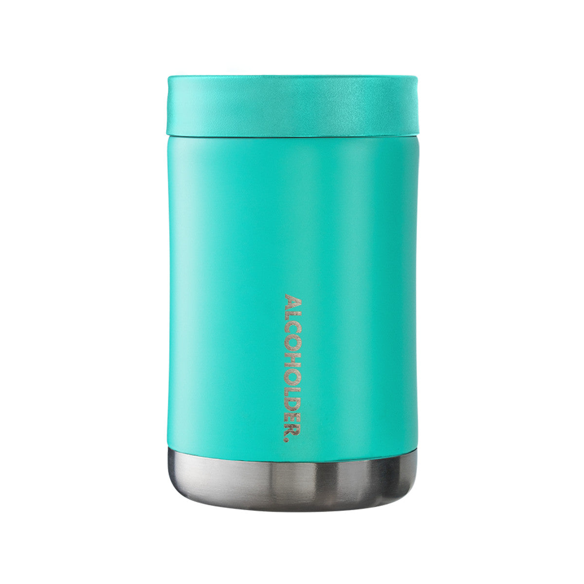 Stubzero Can & Bottle Stubby Cooler - Matte Seafoam Green