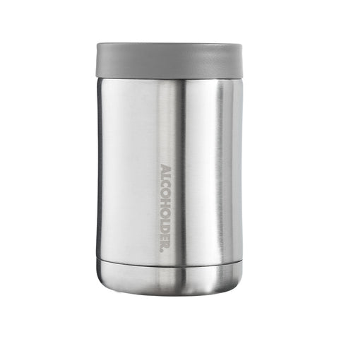 Stubzero Can & Bottle Stubby Cooler - Stainless Steel