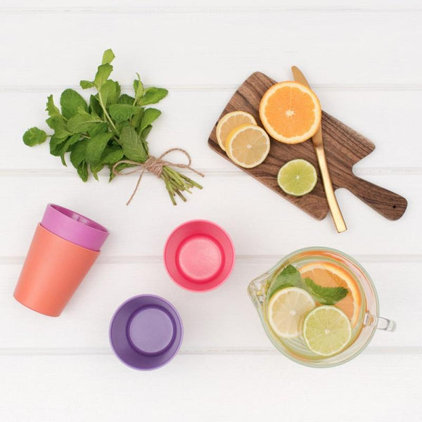 bobo&boo Bamboo Kids Cup Set - Sunset (300ml)