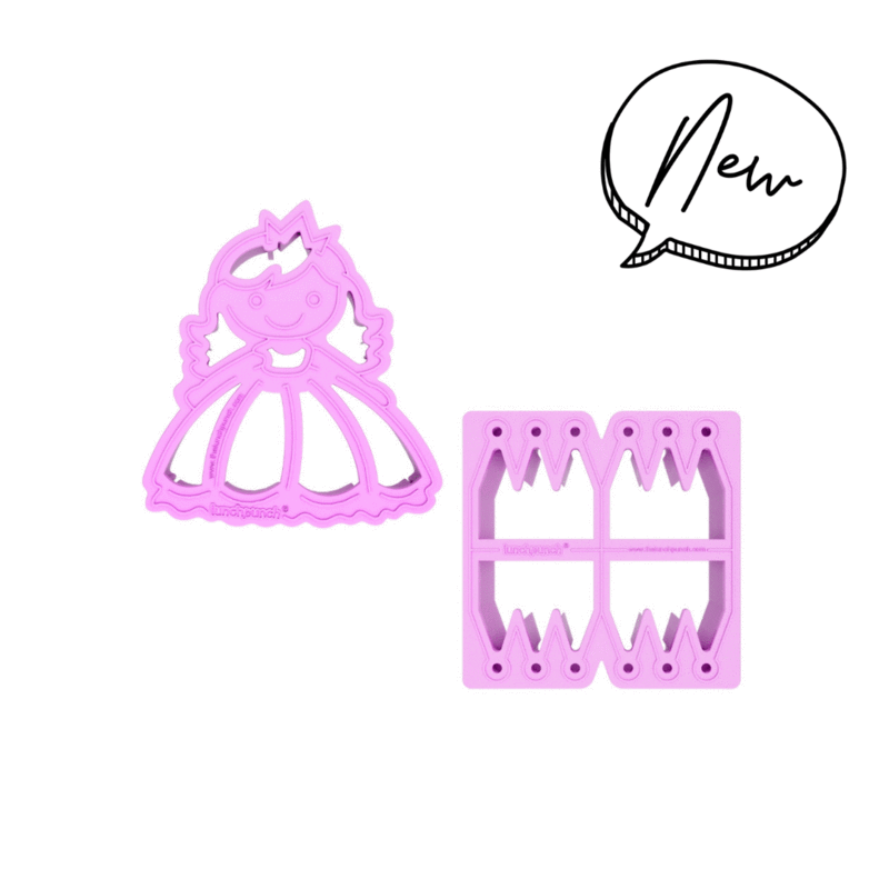 Lunch Punch Sandwich Cutters - Princess