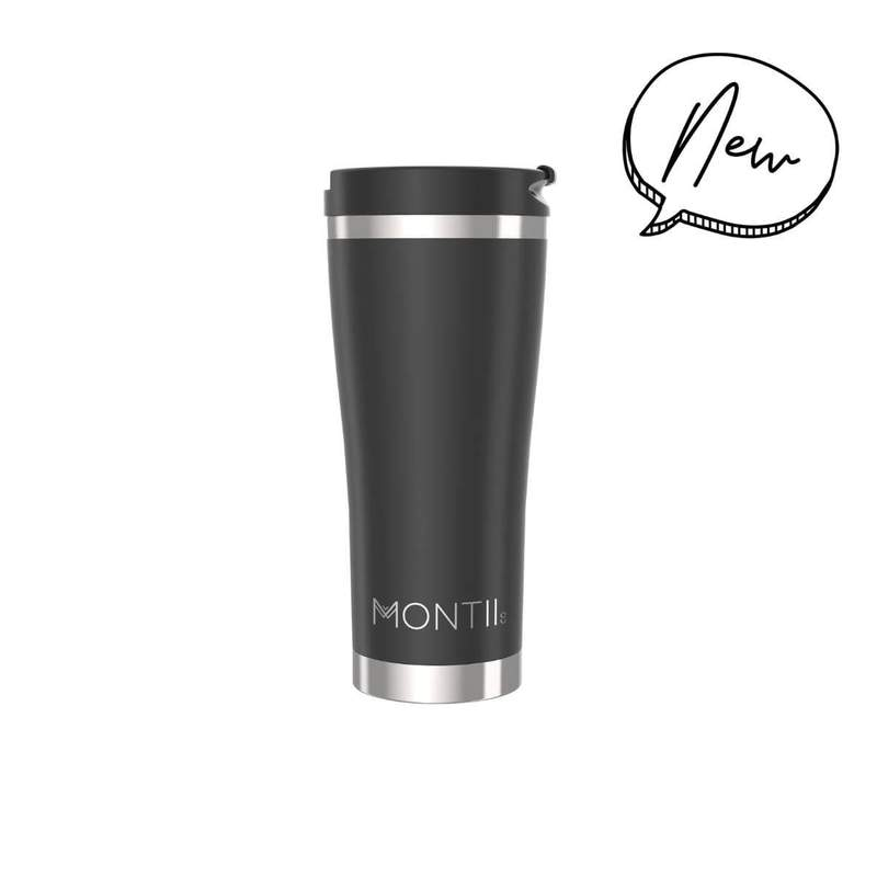 Montiico Mega Coffee Cup - Black