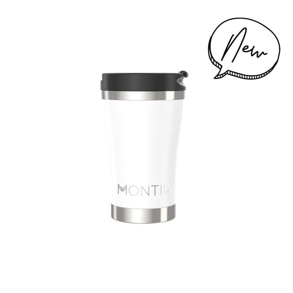 Montiico Regular Coffee Cup - White
