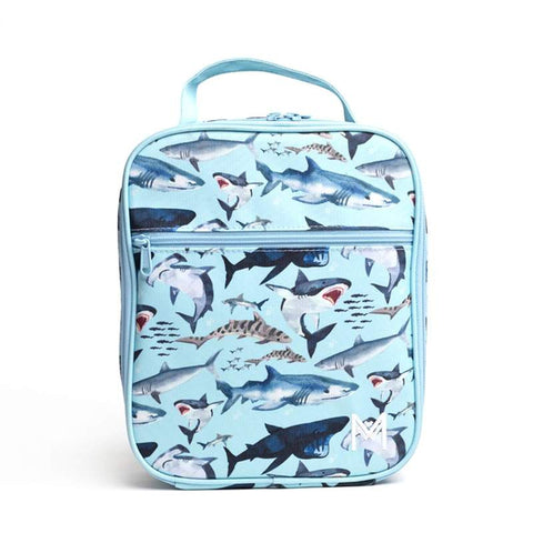 Montiico Insulated Lunchbag-Shark