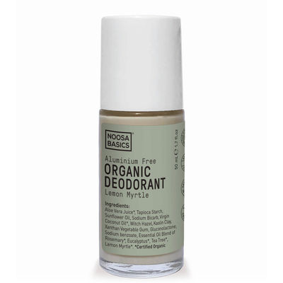 Noosa Basics Deodorant Roll On - Lemon Myrtle - 50 ml