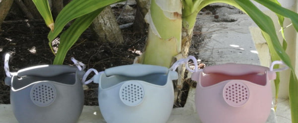 Scrunch Watering Can - Dusty Rose