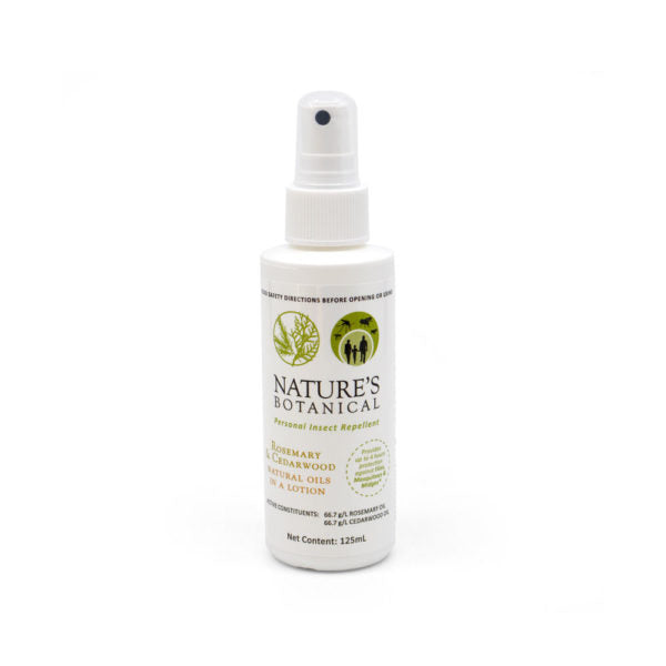 Nature's Botanical - Repellent- 125mL spray