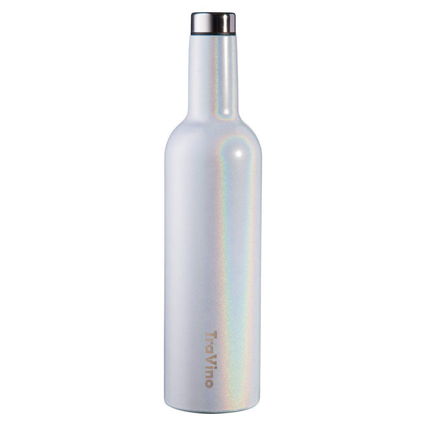 TraVino Insulated Wine Flask - 750mL - Unicorn Sparkles (Glitter)