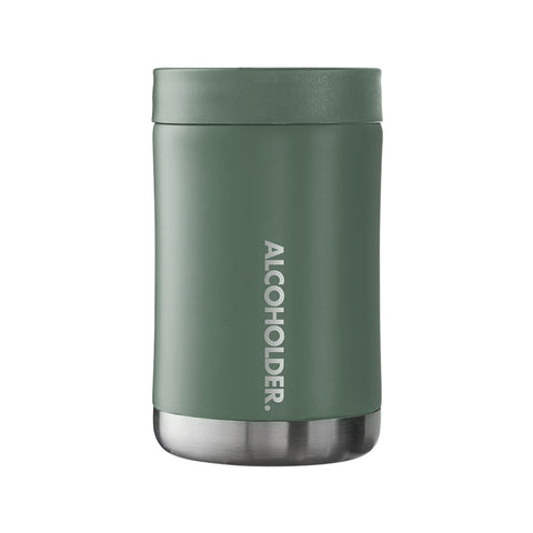 Stubzero Can & Bottle Stubby Cooler - Matte Hunter Green