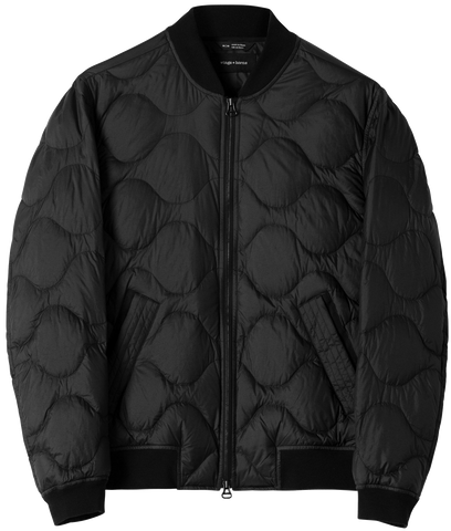 Wings+Horns Black Bomber Jacket