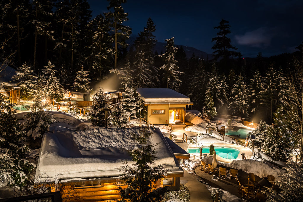 Scandinave Spa Whistler Night