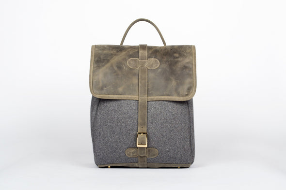Camden Backpack in Olive Green