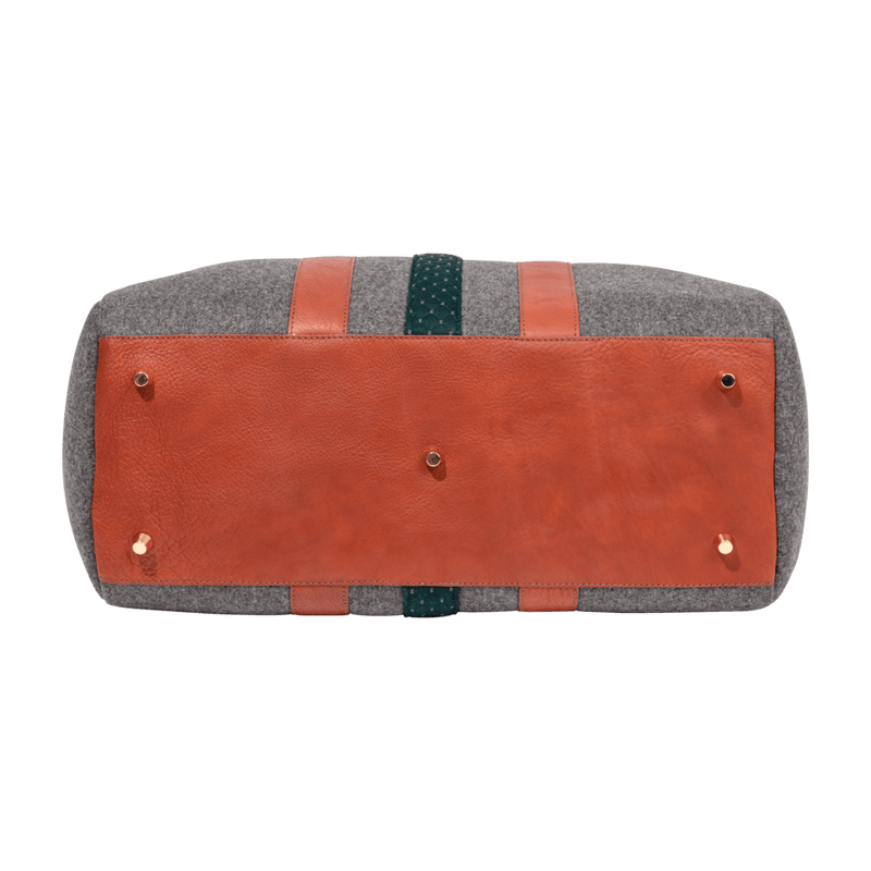 monte-and-coe-grey-and-cognac-wool-weekender-bag-bottom