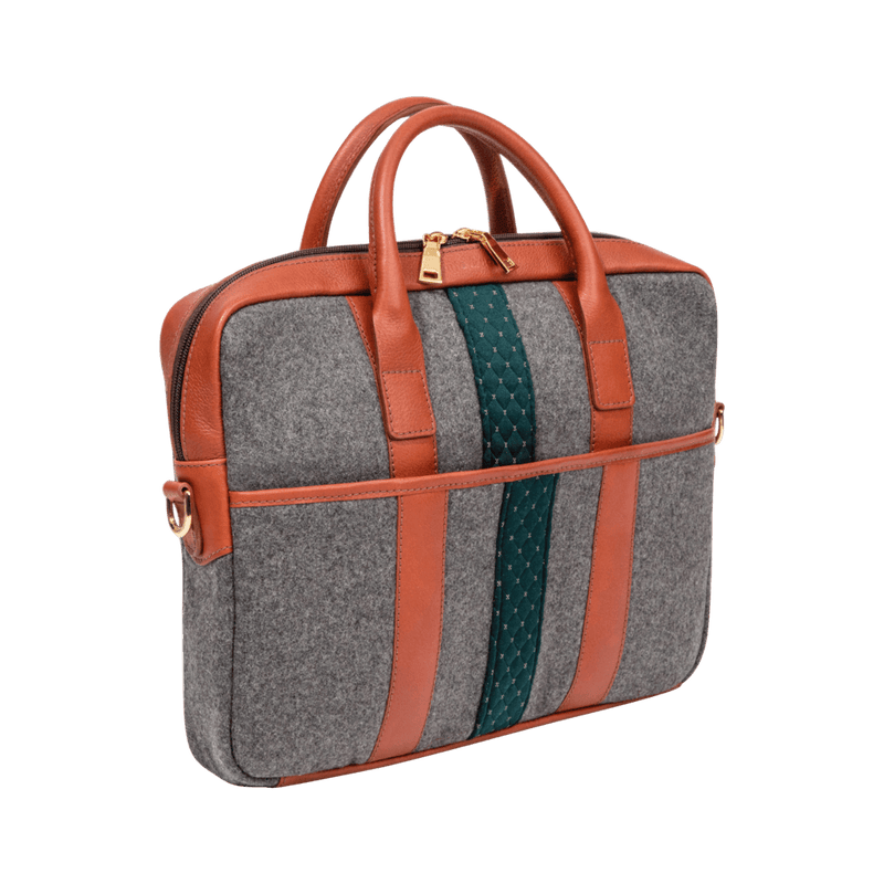 monte-and-coe-grey-and-cognac-wool-briefcase-back-side-angle