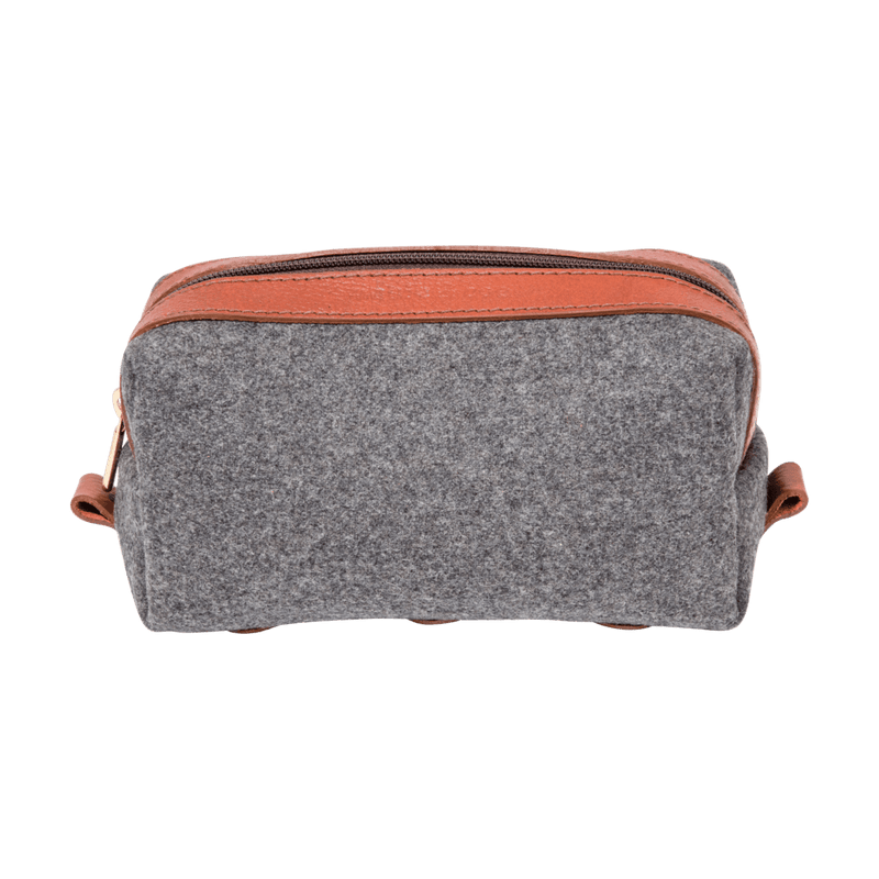 monte-and-coe-grey-and-cognac-wool-dopp-kit