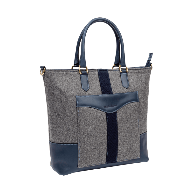 grey-and-navy-monte-and-coe-everyday-tote-bag-angle