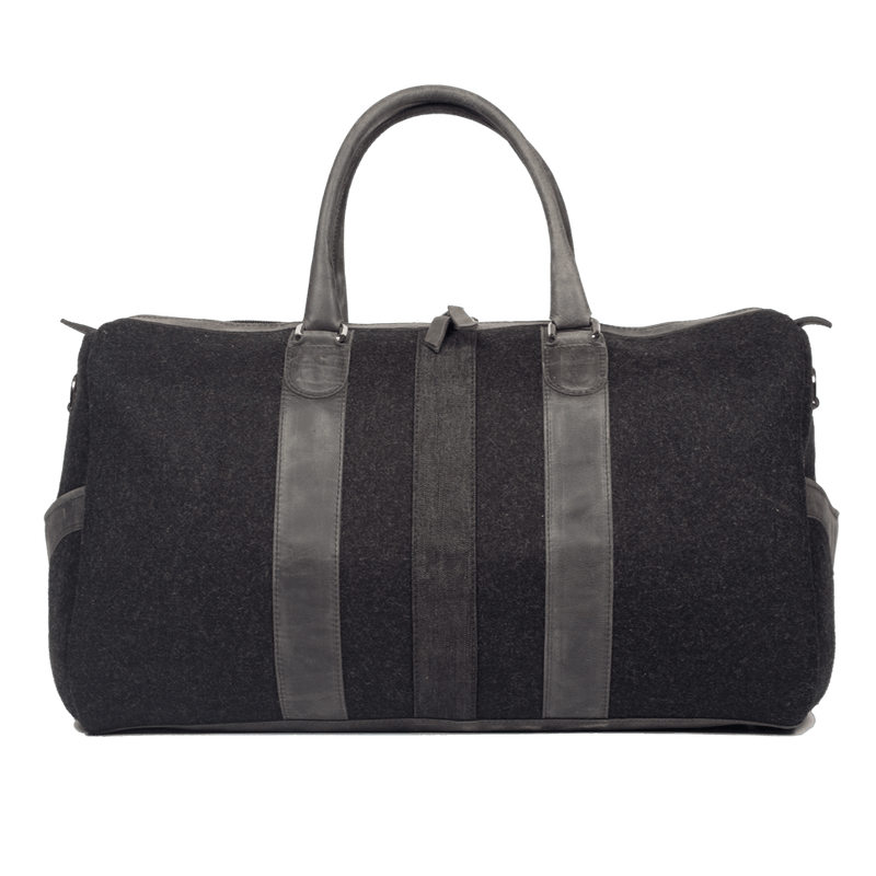 monte-and-coe-mute-black-wool-weekender-bag