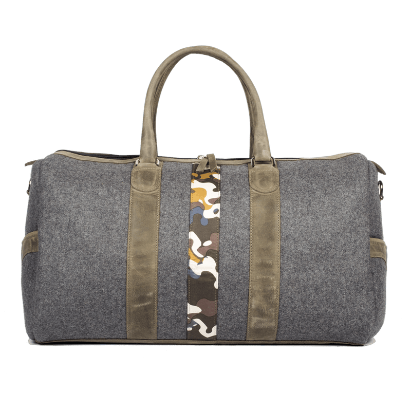 monte-and-coe-olive-green-and-grey-wool-weekender-bag