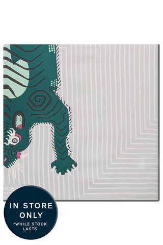 Forest Tiger Pocket Square