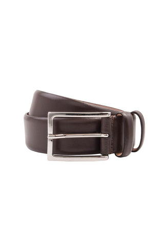 Gallo Matte Dark Brown Belt
