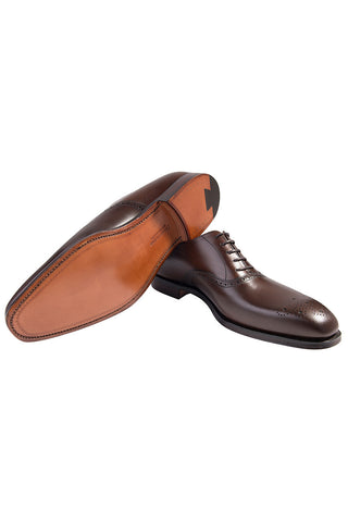 Dark Brown Edgware Shoe
