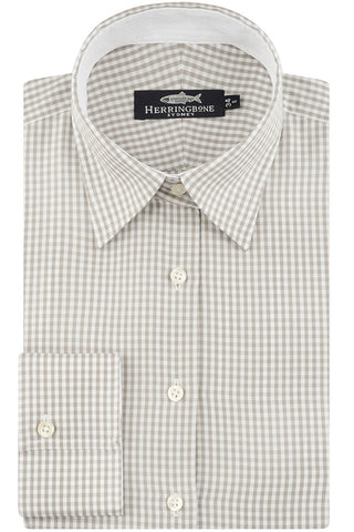 Ecru Gingham Check