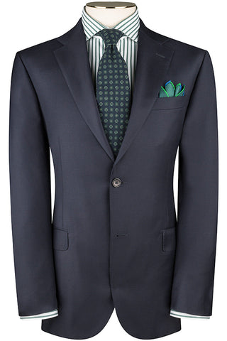 Navy Twill Jacket
