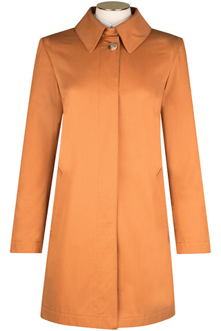 Sienna Cotton Twill Coat